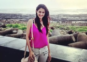disha patani in beach cover